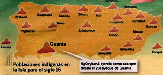 Indios Tainos Indice Puerto Rico Datos Y Fotos Poblaciones